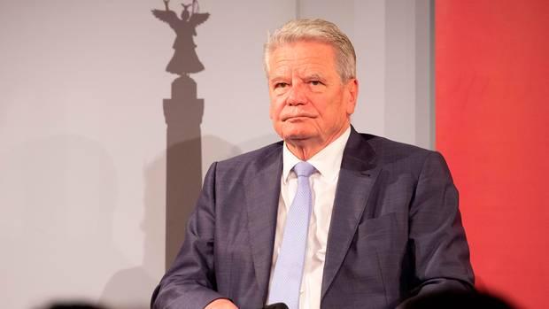 Altbundespräsident Joachim Gauck