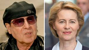 Kombo: Klaus Meine und Ursula von der Leyen - Wind of Change zum Zapfenstreich