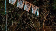 Plakate der Vermissten