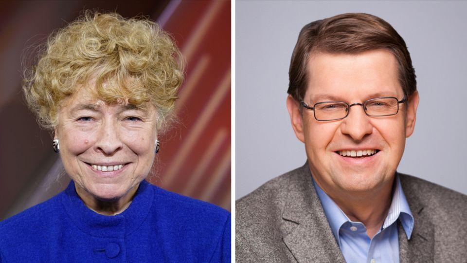 Gesine Schwan, Ralf Stegner