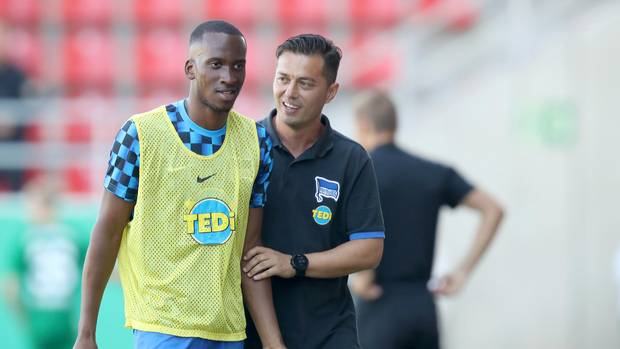 Bundesliga Thesen - Hertha-Trainer Covic setzt auf Lukebakio