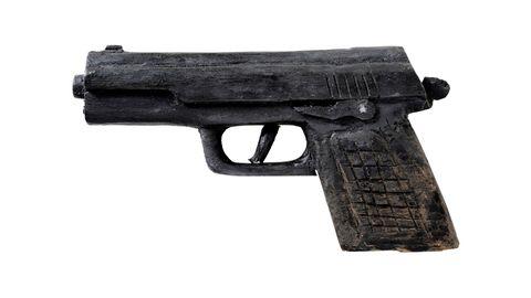 Beretta aus Holz