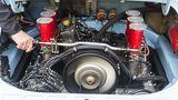 Der Sechszylinder-Boxer wurde auf 2.5 Liter aufgebohrt