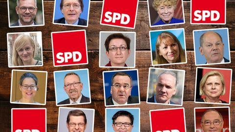Die Kandidaten für den SPD-Vorsitz