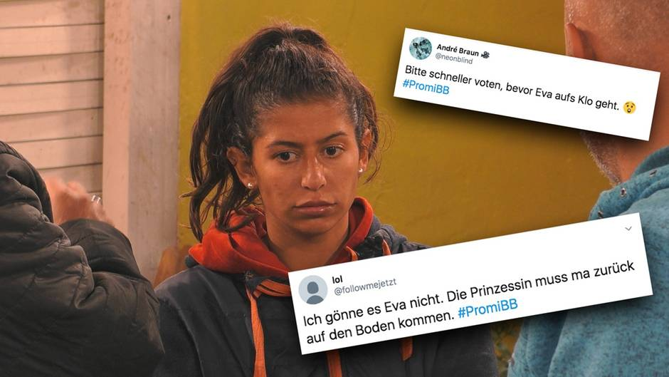 Promi Big Brother: Zuschauer schicken Eva Benetatou zurück ins Zeltlager, nachdem sie endlich im Luxuscamp ankommt