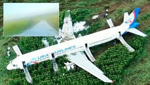 Airbus-Notlandung bei Moskau: Augenzeugen schildern dramatische Szenen