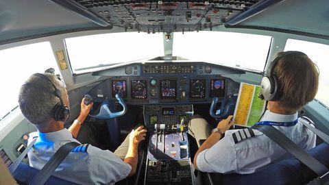 Im Cockpit einer Dornier328