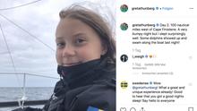 Greta Thunberg auf See Tag 2