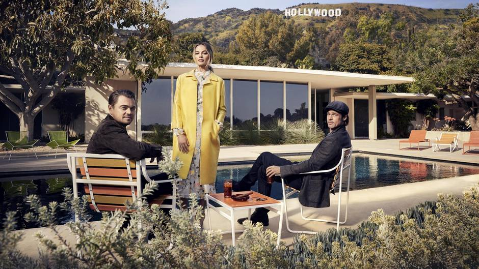 """""""Once Upon A Time In Hollywood"""": stern trifft Regisseur und Darsteller"""