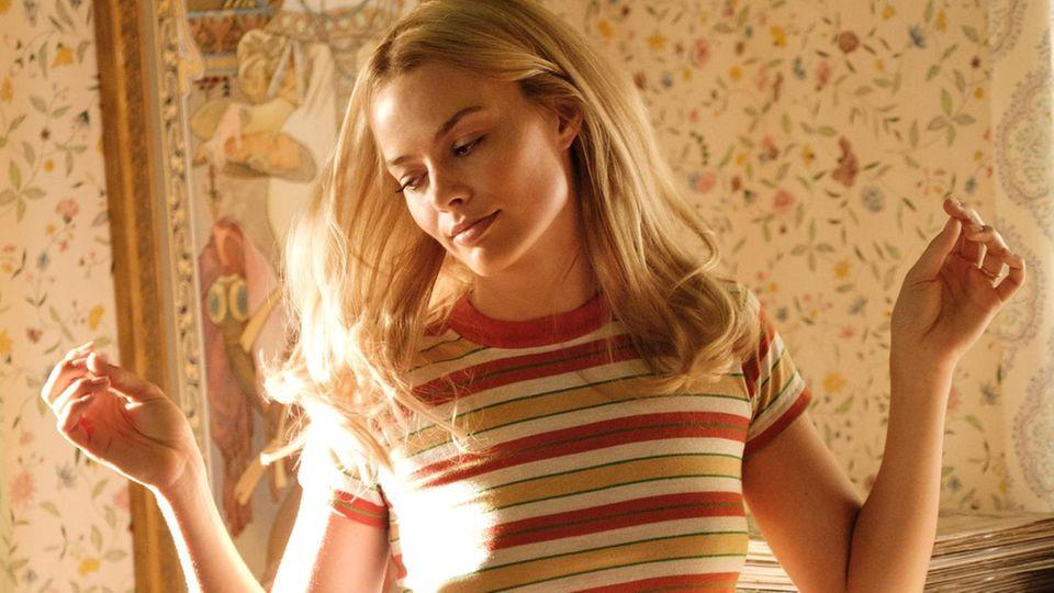 In Tarantinos Film wird Sharon Tate von der australischen Schauspielerin Margot Robbieverkörpert