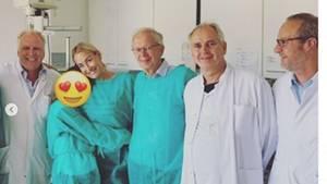 Vip-News: Sarah Connor bedankt sich bei Ärzten
