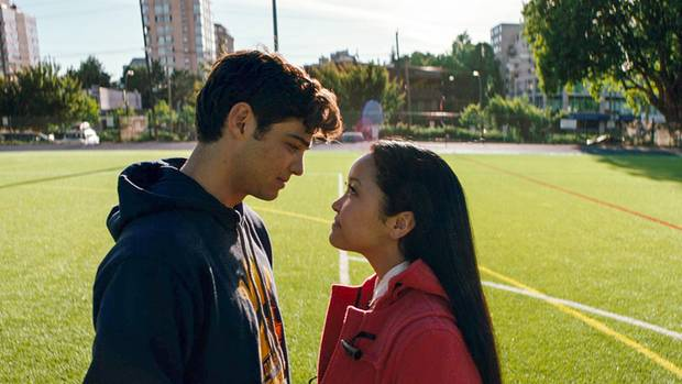 """Noah Centineo und Lana Condor in """"To All the Boys I've Loved Before"""""""