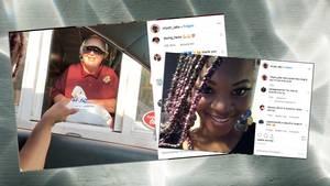Uber-Fahrerin besucht Kundin bei der Arbeit – mit süßer Überraschung