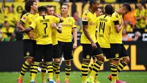 Ganz guter Start in die neue Saison: Dortmund schlägt desolate Augsburger mit 5:1