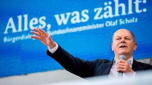 Vizekanzler Olaf Scholz kandidiert für den SPD-Vorsitz