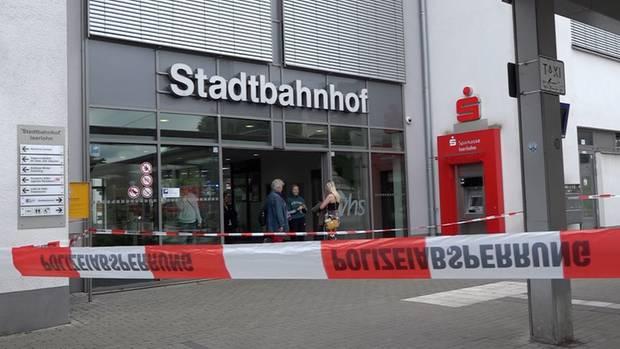 Der Stadtbahnhof in Iserlohn