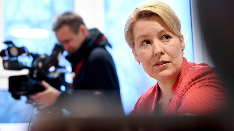 Bundesfamilienministerin Franziska Giffey