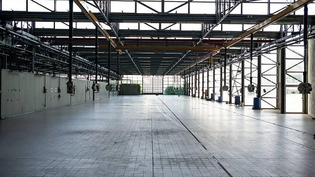 Bugatti Fabrik in Campogalliano / Italien