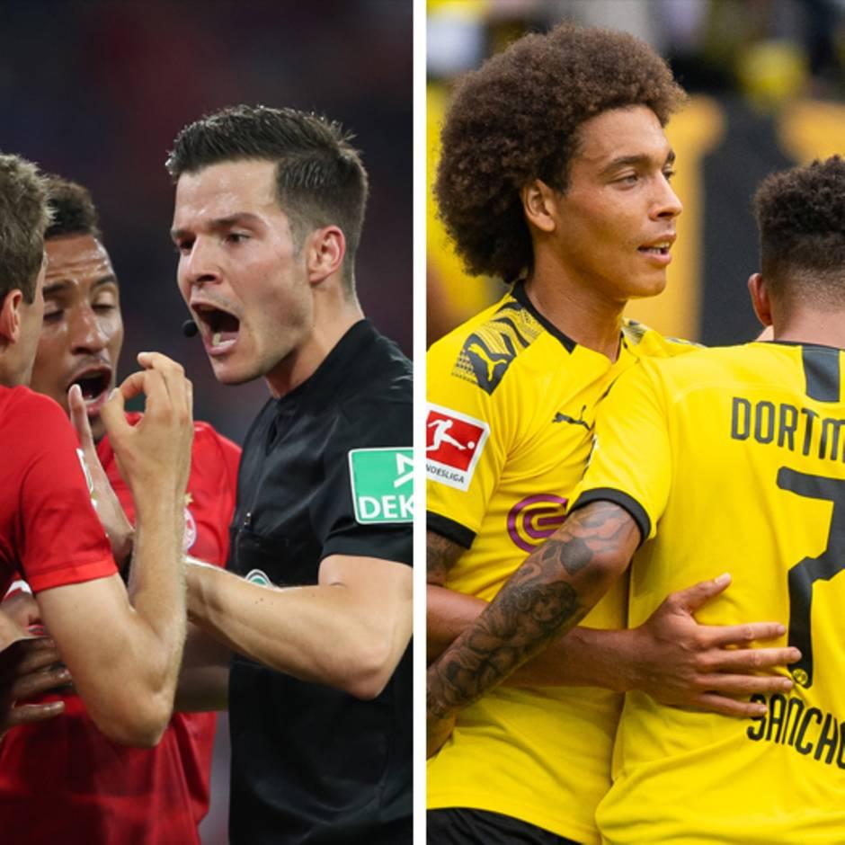 Bundesliga im stern-Check: Bei den Bayern ist schon Feuer unter dem Dach - beim BVB ist die Stimmung bestens