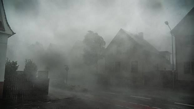 Unwetter - Scjhweres Gewitter in Langen Hessen