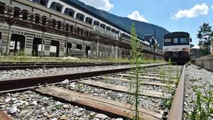 Kein großer Bedarf: In Richtung Zaragoza verkehren heute zwei Regionalzüge pro Tag, die für die 200 Kilometer langeStreckeknapp vier Stunden benötigen.