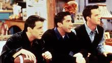 "Joey, Ross und Chandler aus der Kultserie ""Friends"""