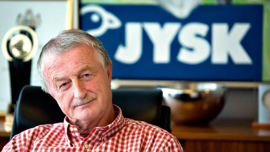 Der Gründer der Möbelhauskette Dänisches Bettenlager, Lars Larsen, ist tot.