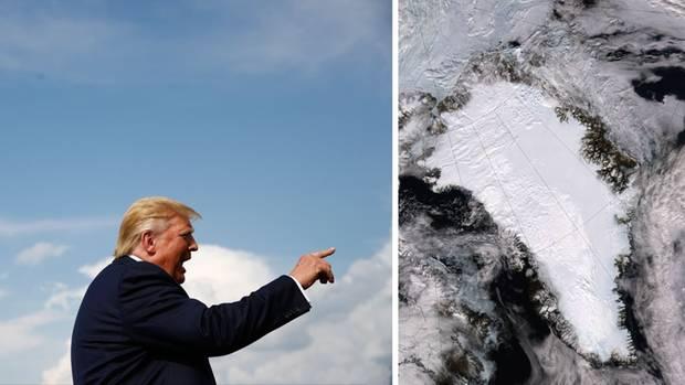 Hat ein Auge auf Grönland geworfen: Donald Trump