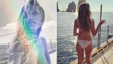 Heidi Klum in den Flitterwochen mit Tom Kaulitz