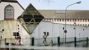 Die Justizvollzugsanstalt Bochum:Ein Häftling hatte es vergangene Woche geschafft, hier auszubrechen