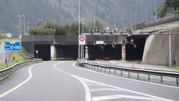 Die Einfahrt zum Gotthard-Tunnel (Archivbild)
