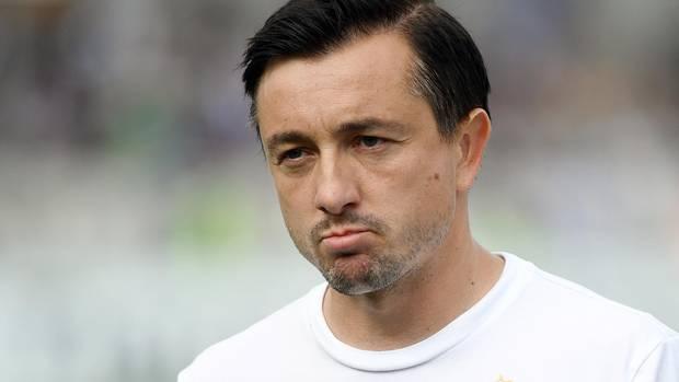 Daniel Meyer, Trainer von FC Erzgebirge Aue, ist von seinem Verein beurlaubt worden