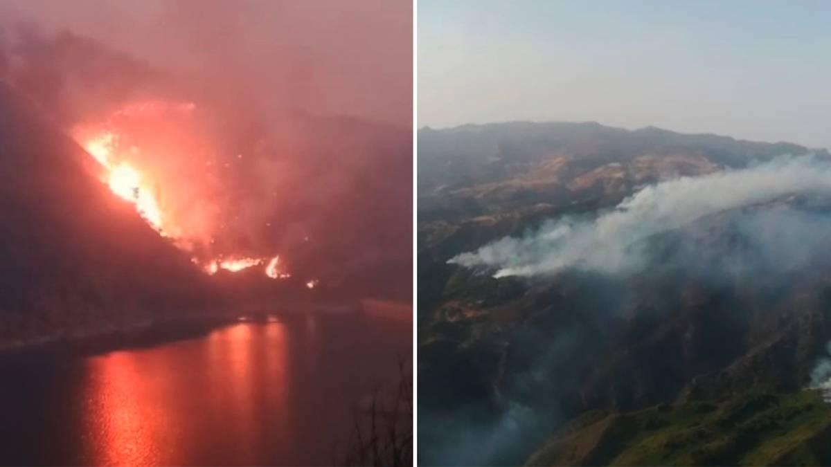 Beliebte Urlaubsinsel: Waldbrand auf Gran Canaria außer Kontrolle – Inselregierung spricht von möglicher Brandstiftung