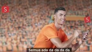Cristiano Ronaldo Werbung für Shopee