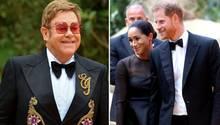 Elton John verteidigt Harry und Meghan