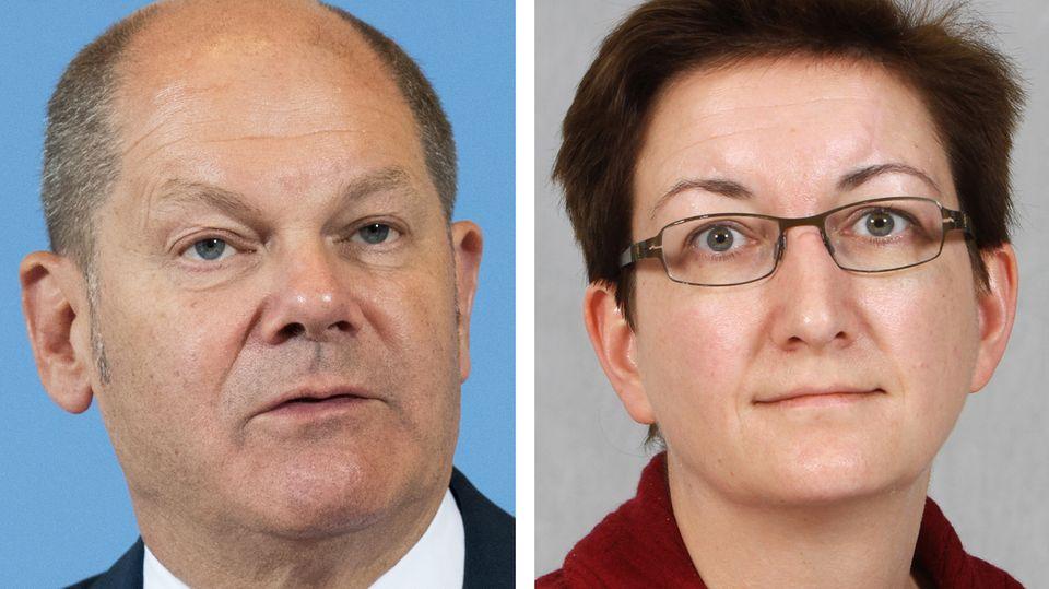 Olaf Scholz, Klara Geywitz