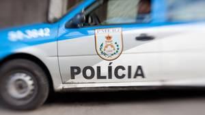 Ein Polizeiauto in Rio de Janeiro (Symbolfoto)