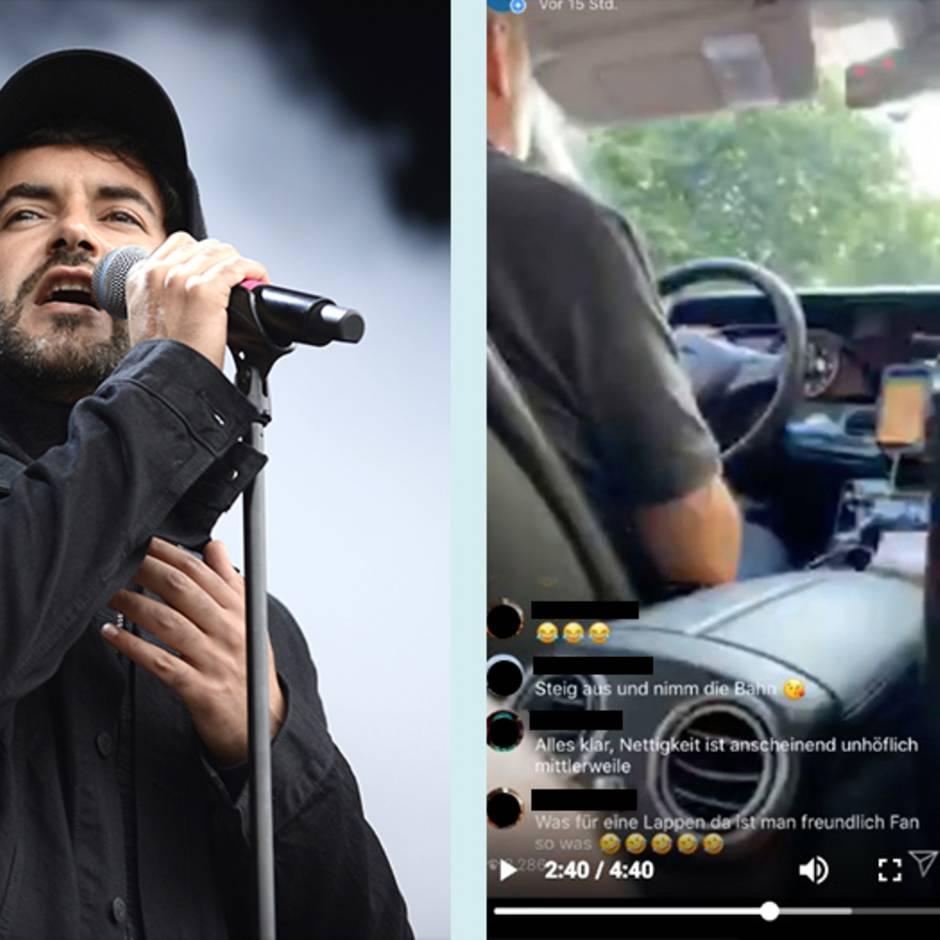 Instagram-Video: Rapper Chefket wird von Taxifahrer nicht mitgenommen – der Grund macht ihn wütend