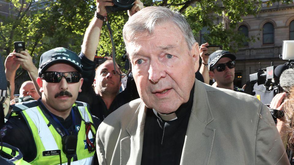Der australische Kardinal George Pell