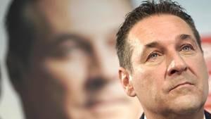 Der ehemalige österreichische Vizekanzler Heinz-ChristianStrache (FPÖ)
