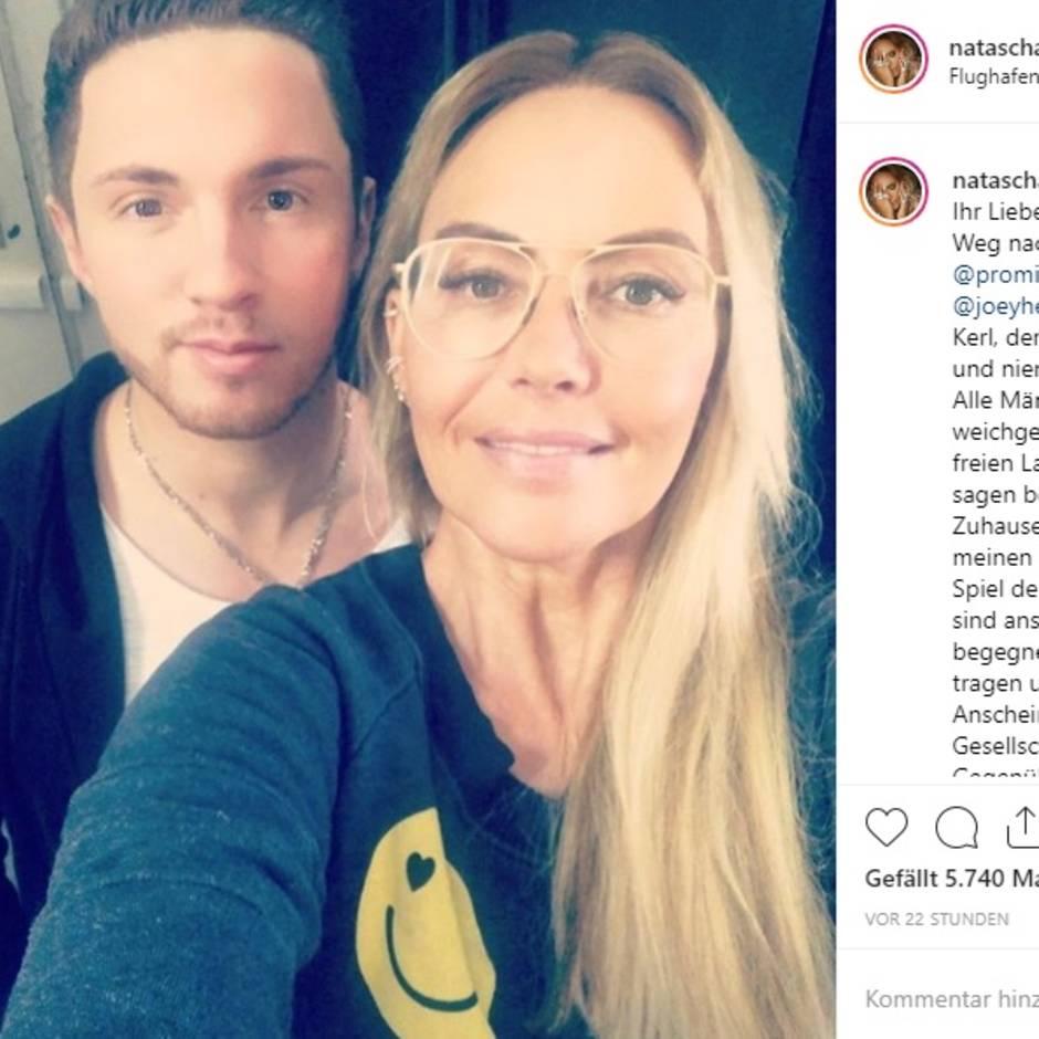 """Mobbing bei """"Promi Big Brother"""": """"Was ist los mit dir, Sat.1?"""": Aurelio Savina und Natascha Ochsenknecht verteidigen Joey Heindle"""