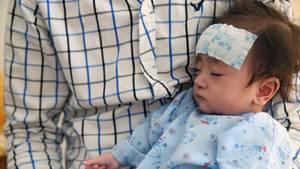 Zweijährige erlitt schwere Verbrennungen