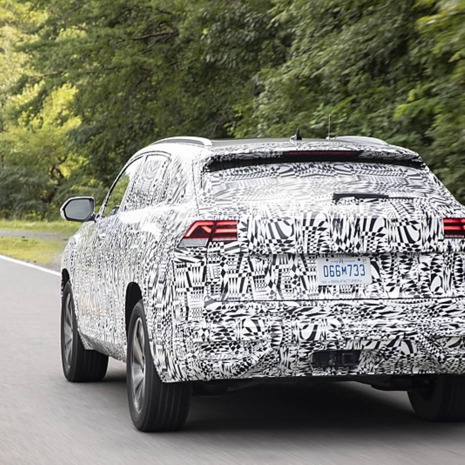 erste Fahrt im VW Atlas Cross Sport: Exportschlager