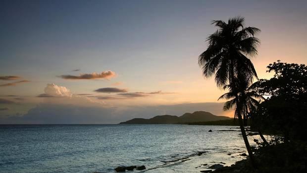 Puerto Rico, Vieques Island, Esperanza Bay