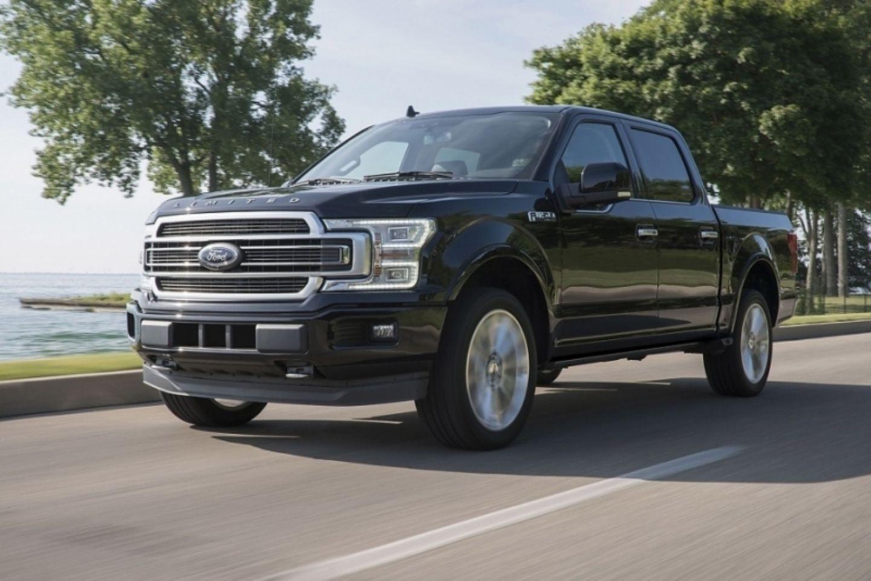 Pick-ups, wie der Ford F-150 sind in Detroit en vogue