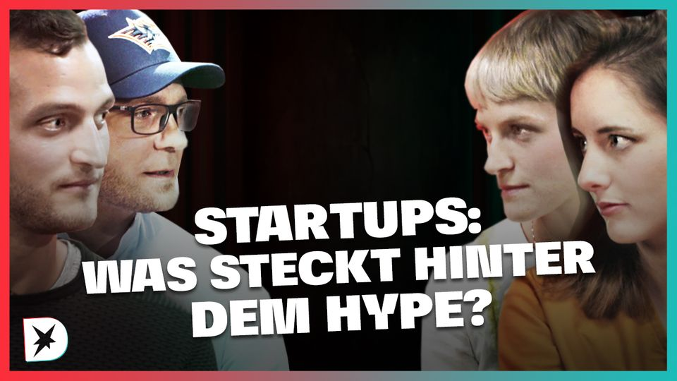 Teaserbild Diskuthek zum Thema Startups