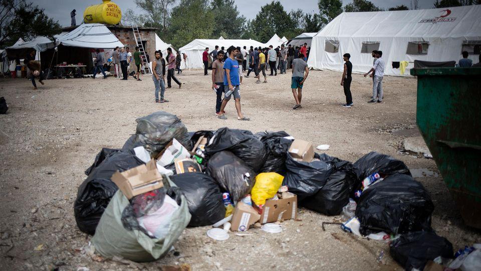 Flüchtlingscamp Vučjak