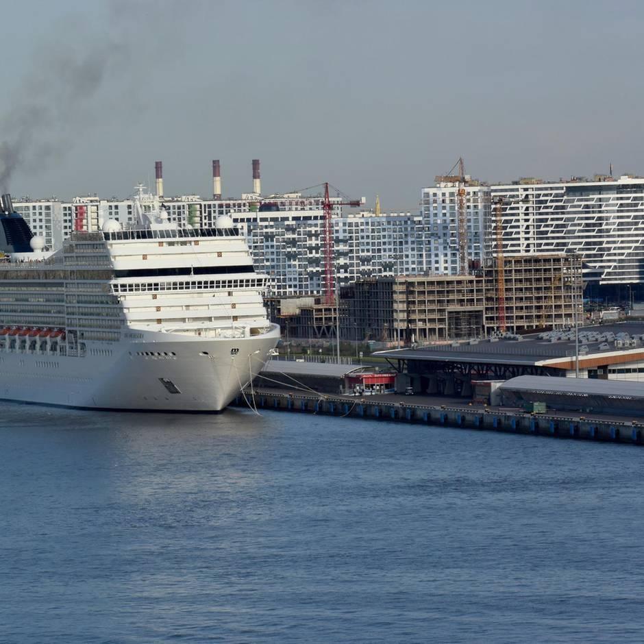 News von heute: Feuer auf Kreuzfahrtschiff in St. Petersburg - ein Toter