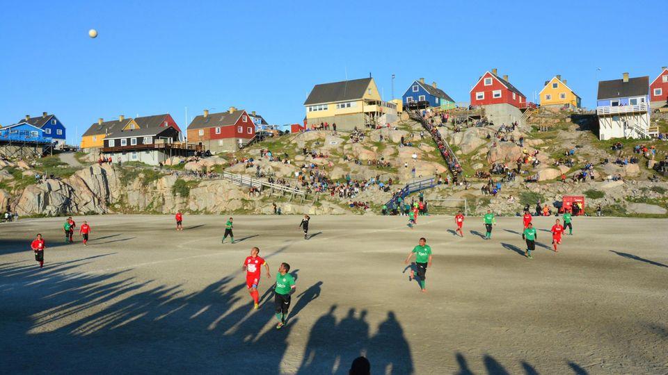 Fußball in Ilulissat