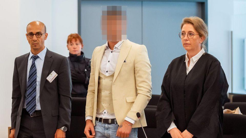 Angeklagter im Prozess um tödliche Messerattacke in Chemnitz